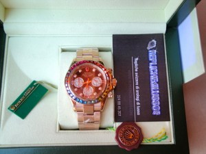 rolex replica daytona rainbow rose gold3